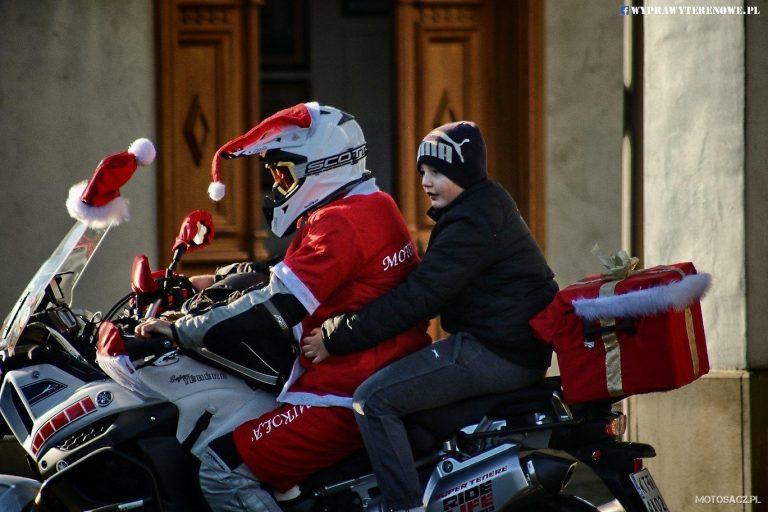 Motomikołaje rozwiozą 2, 5 tysiąca świątecznych paczek