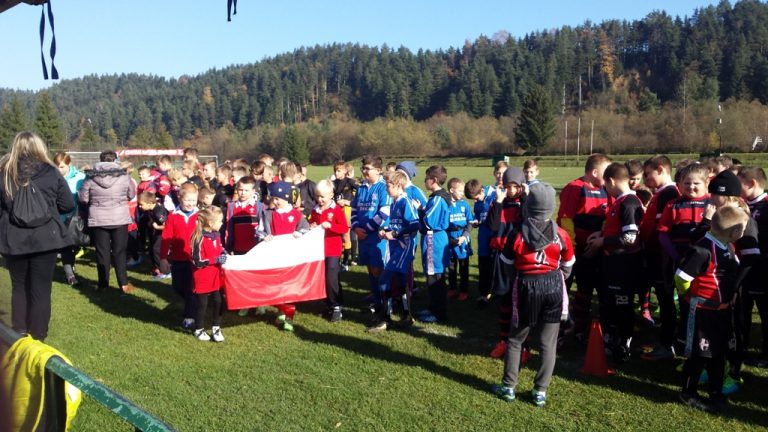 Nowy Sącz: Za nami I Turniej Niepodległości w rugby dzieci i młodzieży