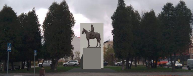 Nowy Sącz: pomnik Józefa Piłsudskiego w 2018 roku. Radni jednogłośnie poparli projekt