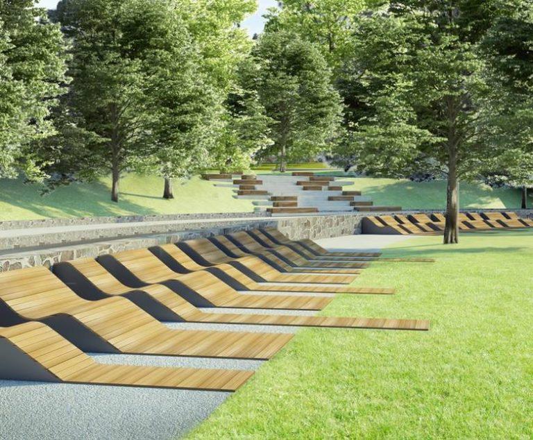 Krynica – Zdrój: zbudują schody z leżakami i nowe fontanny