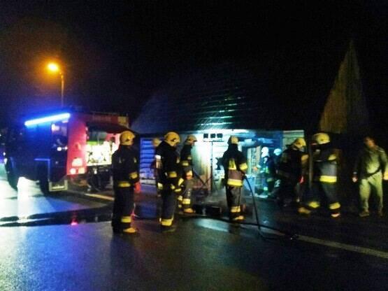 Łącko: pożar budynku gospodarczego. Czy w gminie grasuje podpalacz?