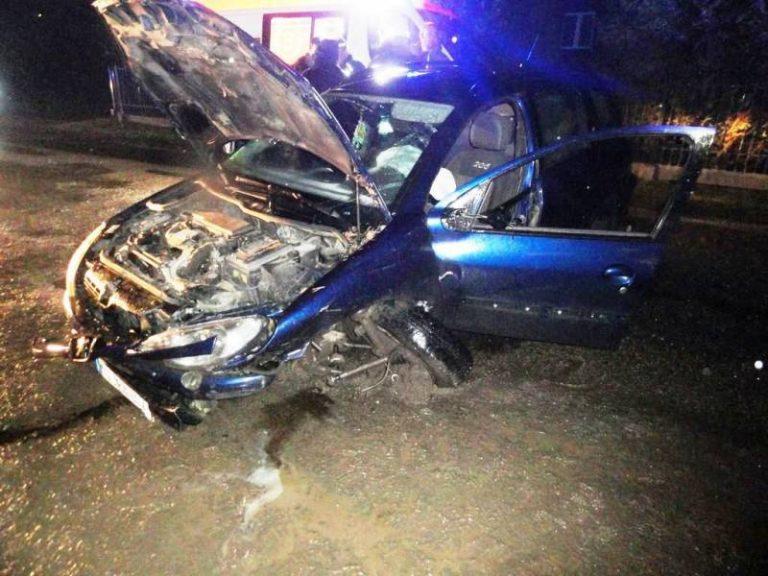 Muszyna, ul. Leśna: zderzenie samochodu osobowego i dostawczego