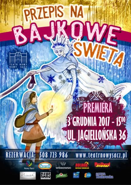 """Teatr Nowy ma """"Przepis na bajkowe święta"""""""
