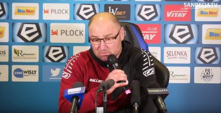 Nowy trener Sandecji: stanowimy jedność!