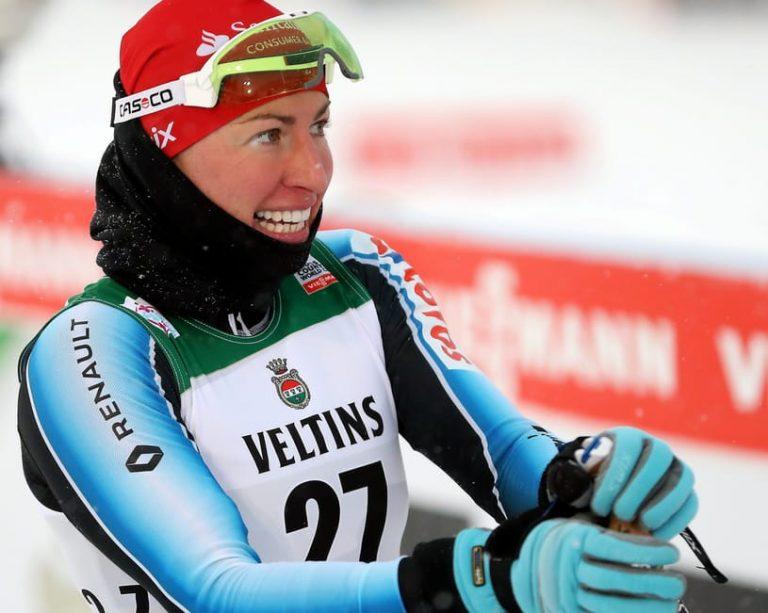 Justyna Kowalczyk odrobiła kilkanaście pozycji