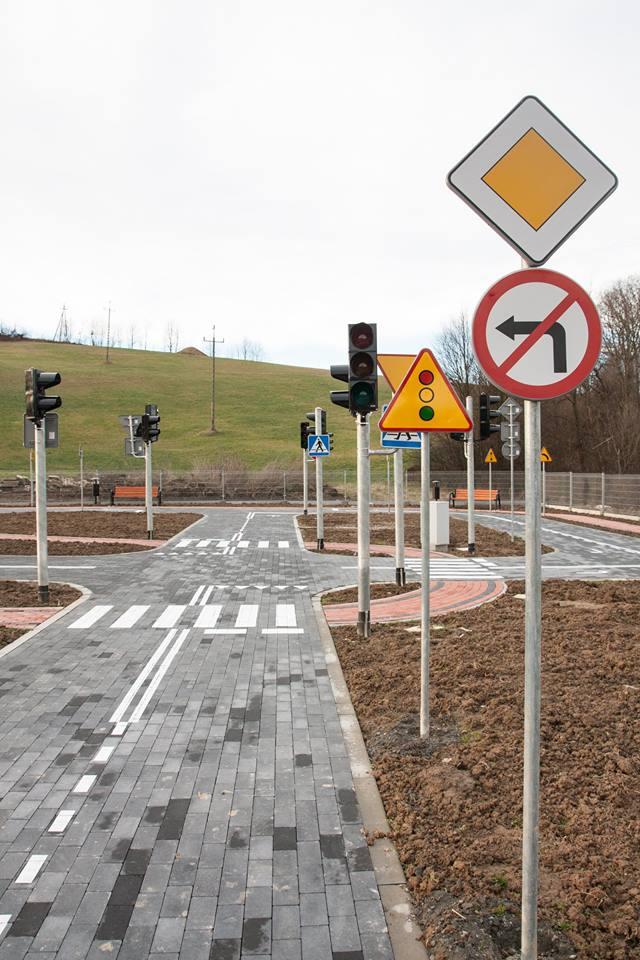Korzenna: budowa miasteczka ruchu drogowego finiszuje!