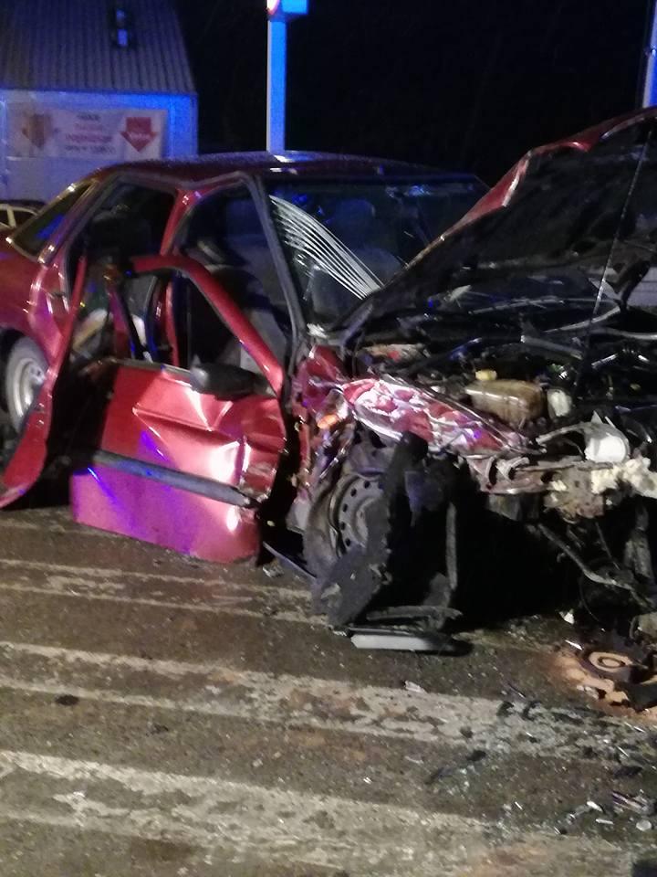 Łącko: groźny wypadek. Pięć osób w szpitalu