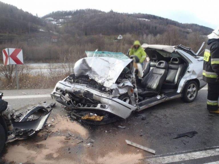 Jazowsko: drogowy dramat ze śmiertelnym skutkiem