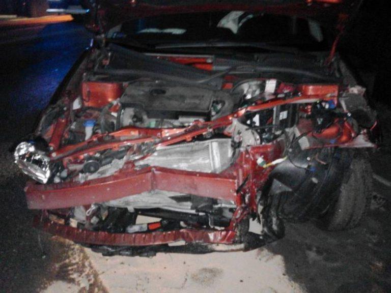 Wielogłowy: kraksa Mercedesa i Suzuki