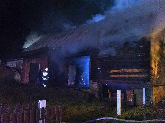 Ustalono przyczyny dwóch z pięciu pożarów w gminie Łącko