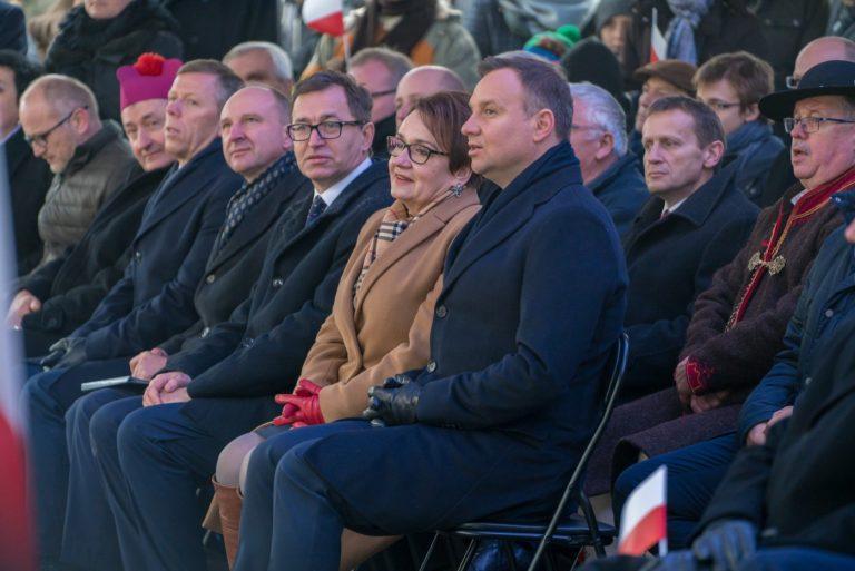 Prezydent RP Andrzej Duda w Stróży: tu jest kolebka odzyskania niepodległości