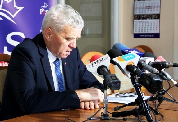 Senator Stanisław Kogut może usłyszeć zarzut popełnienia trzech przestępstw