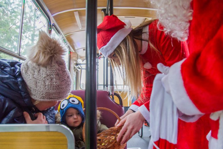 W środę po Nowym Sączu będzie kursował Jelcz z Mikołajem
