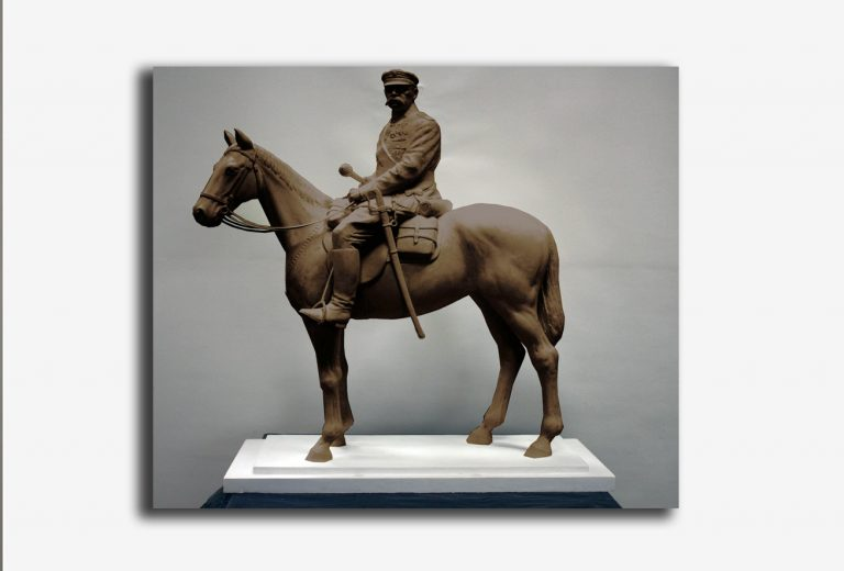 Pomnik Józefa Piłsudskiego ma być gotów 11 listopada 2018. Trzeba zebrać 480 tys. zł