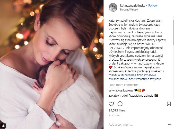 Katarzyna Zielińska pokazała światu swoją wielką miłość…