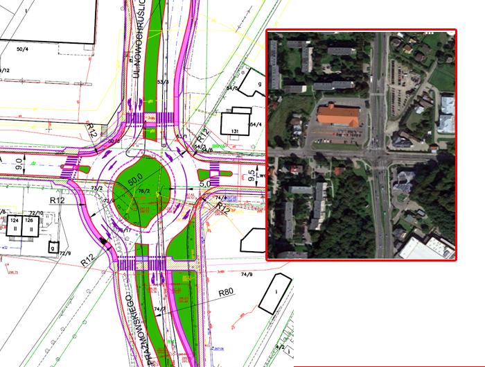 Nowy Sącz: jest projekt ronda u zbiegu ulic Prażmowskiego Nowochruślickiej i Lwowskiej