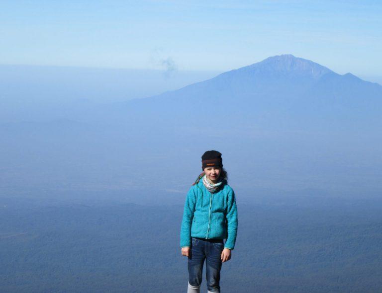 Najmłodsza Polka, która zdobyła Kilimandżaro mieszka w Łącku
