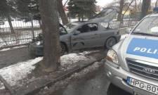 Aleje Wolności: zderzenie dwóch samochodów