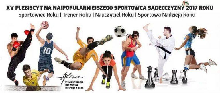 Nowy Sącz: rozpoczęło się głosowanie na Najpopularniejszego Sportowca Sądecczyzny 2017 roku