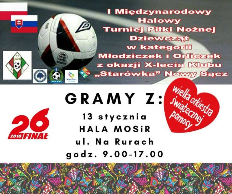 Nowy Sącz: I Międzynarodowy Halowy Turniej Piłki Nożnej Dziewcząt