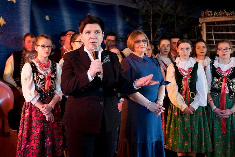 Gorlice: tajemnicza wizyta byłej premier Beaty Szydło