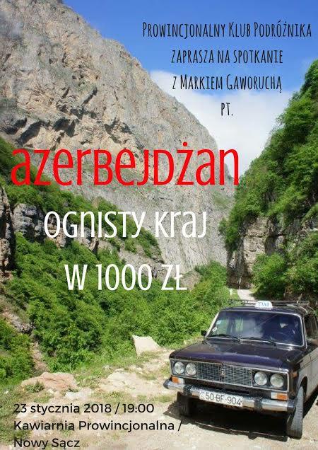 Kawiarnia Prowincjonalna zaprasza w podróż do… Azerbejdżanu