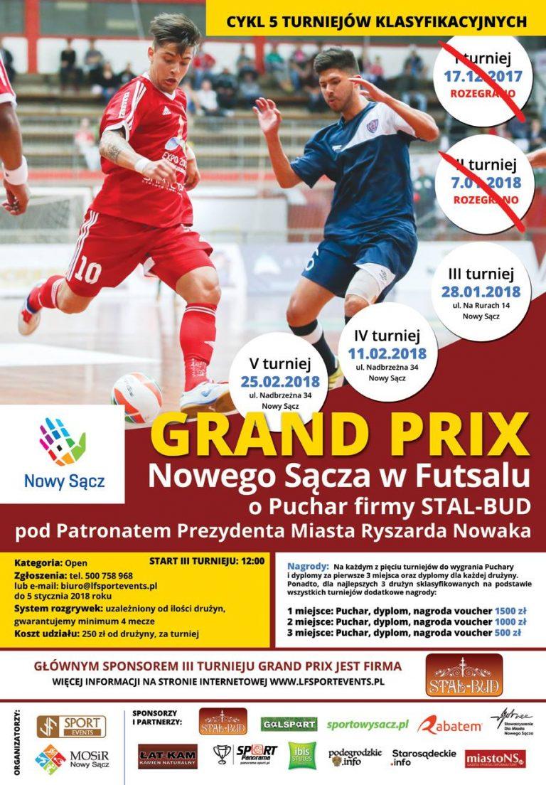 Chcesz zagrać w futsalowym Grand Prix? Zapisz się. Do wygrania cenne nagrody!