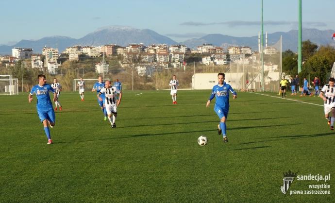 Sandecja grała dziś sparing z przedstawicielem rumuńskiej ekstraklasy [Wideo]