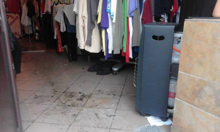 Nowy Sącz: w jednym ze sklepów zapalił się… T-shirt