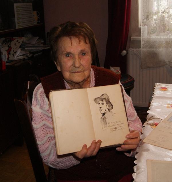 102 lata Pani Eugenii Romańskiej. Barbacki kazał jej urosnąć, więc urosła