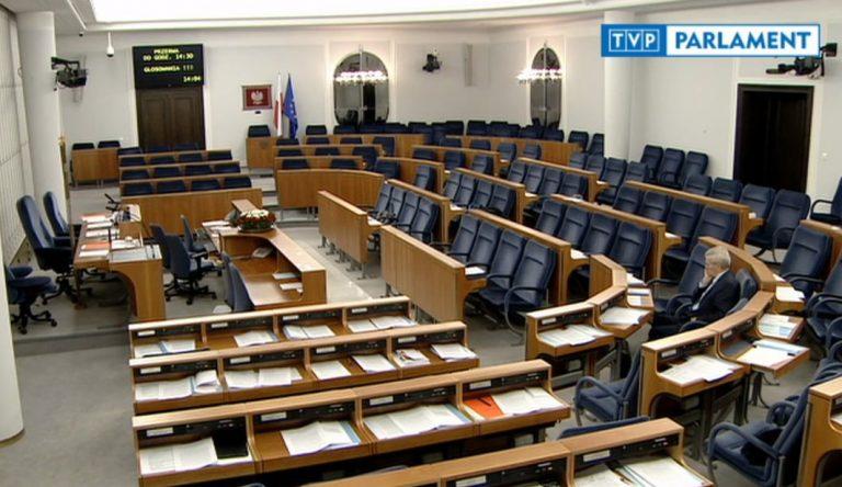Senat nie zgodził się na aresztowanie senatora Koguta