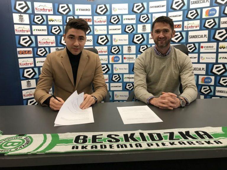 Sandecja nawiązała współpracę z Beskidzką Akademią Piłkarską