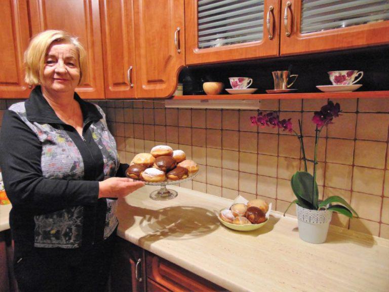 Pani Ludwika, blogerka z Tabaszowej zdradza sekret pysznych pączków