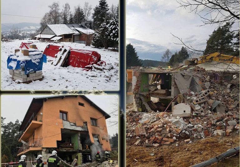 Olszanka: stracili wszystko w jednej sekundzie. Proszą o pomoc w odbudowie domu