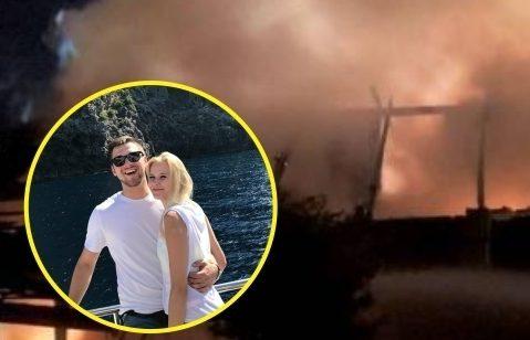 Nadia i Łukasz stracili wszystko w pożarze. Młode małżeństwo potrzebuje waszej pomocy [wideo]