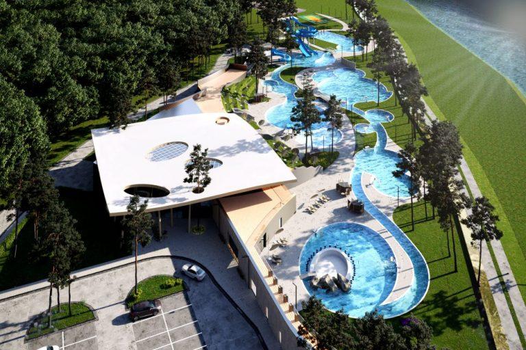 Tak może wyglądać nowoczesne kąpielisko nad Kamienicą. Na inwestycję trzeba 34 mln zł.