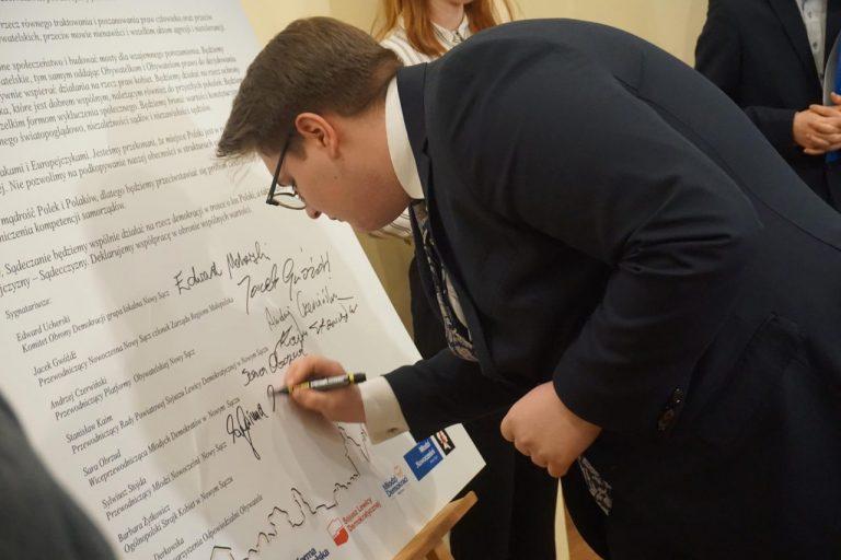Sądecka Deklaracja Wyborcza podpisana