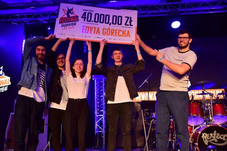 Festiwal Supportów zakończony! Edyta Górecka nagra płytę