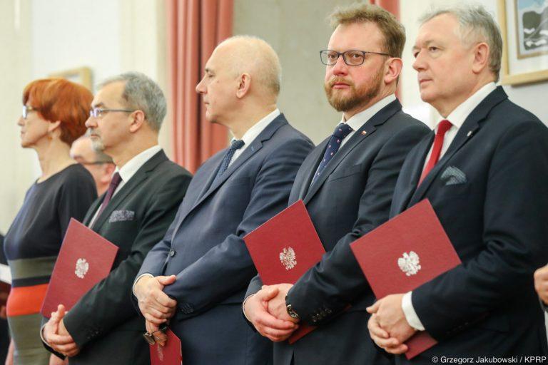 Wiesław Janczyk i Joachim Brudziński w Radzie Dialogu Społecznego