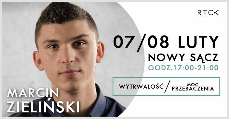 Charyzmatyk Marcin Zieliński wygłosi w Nowym Sączu dwie konferencje