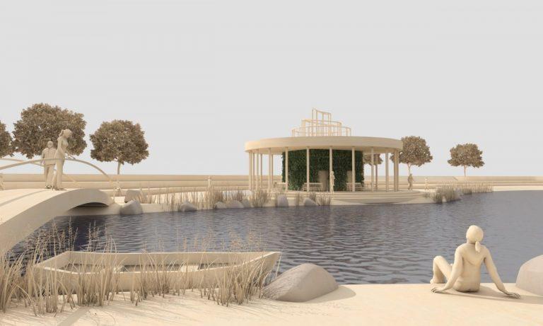 W Muszynie powstanie park uzdrowiskowy ze stawem i wyspą