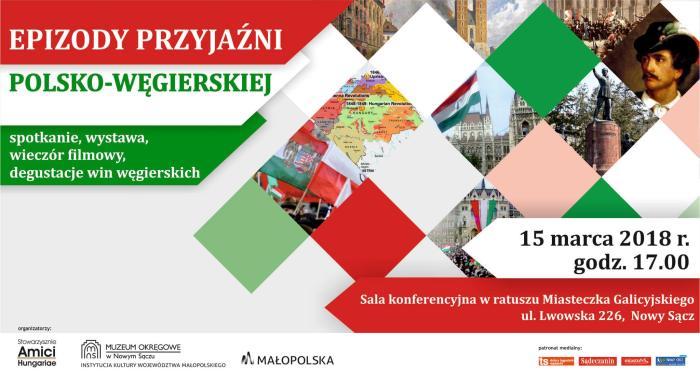 15 marca, godz. 17, Nowy Sącz: Święto Narodowe Węgier w Miasteczku Galicyjskim