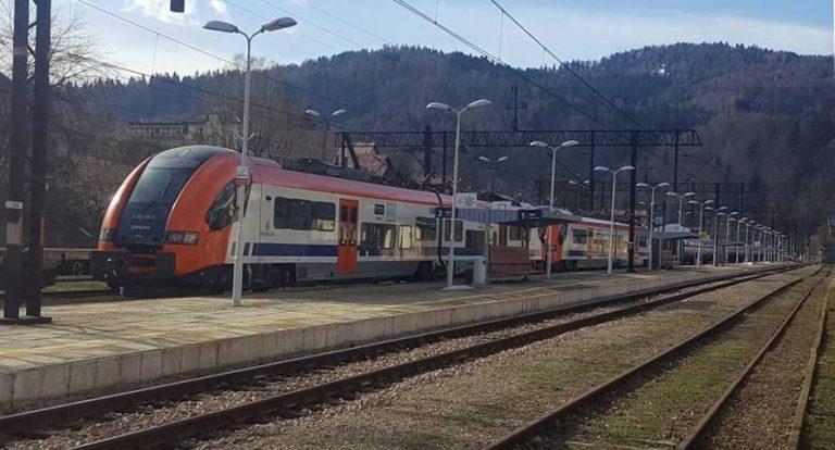 Trwa batalia o pociąg z Krynicy i Muszyny do Nowego Sącza