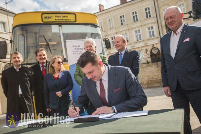 Gorlice: 15 milionów złotych na zakup ekologicznych autobusów!