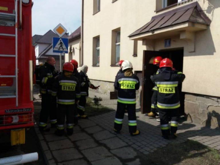 Nowy Sącz, ul. 29 listopada: pożar w piwnicy