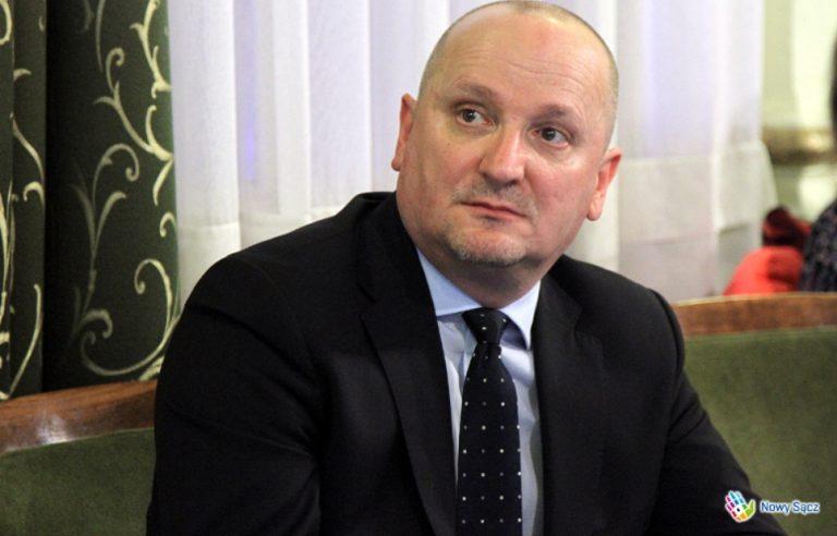 Ryszard Nowak chce, aby Nowym Sączem rządził Krzysztof Głuc