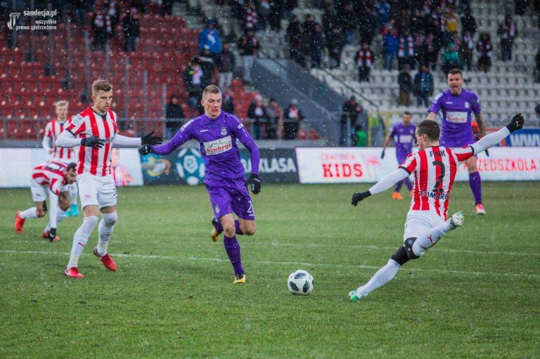 Sandecja zagra z Górnikiem bez dwóch piłkarzy