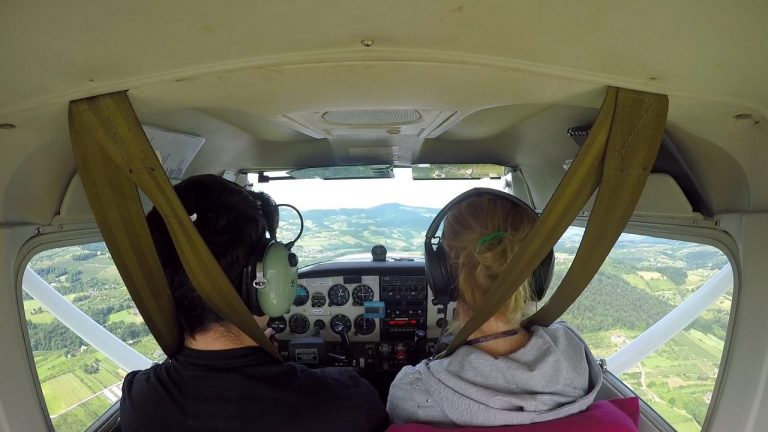 Niebo dla wszystkich – lotnicza przygoda nad Łososiną
