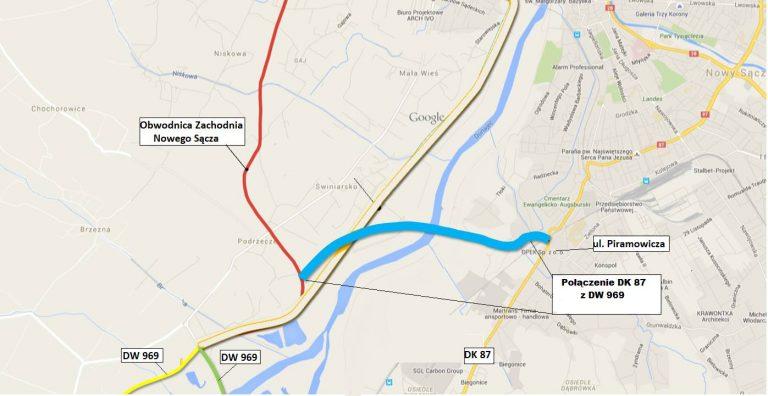 Nowy Sącz: kolejny most na Dunajcu do 2022?