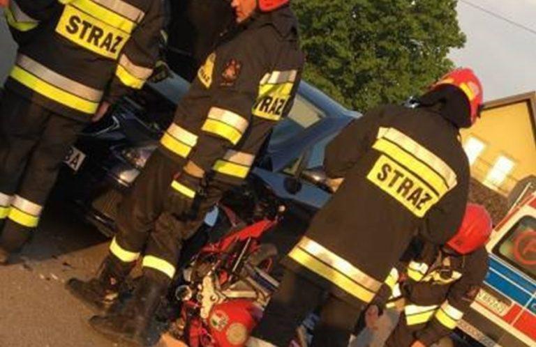 Nowy Sącz: niebezpieczne zdarzenie drogowe na ulicy Myśliwskiej